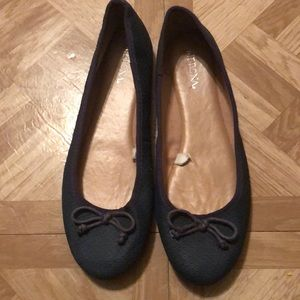 🔆 Merona Flats-Dark Denim Blue